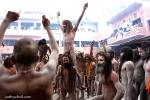 Shivaratri morning at JunaAkhara.