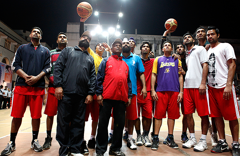 Punjab team in Mumbai